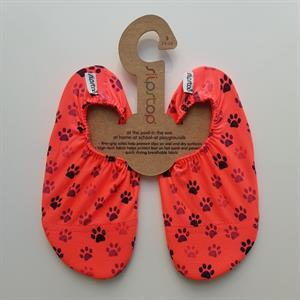 Zapatillas antideslizantes Slipstop, neon cats