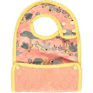 Babero impermeable bebe pop in 6 meses, Cheetah