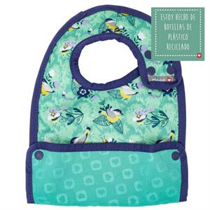 Babero impermeable bebé 6 meses Pop-in Round the Garden