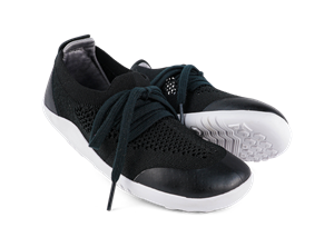 Deportiva Play Knit Negra+Charcoal
