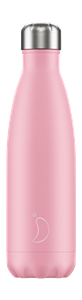 Botella acero inoxidable Chilly´s 500 ml Pastel rosa