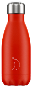 Botella térmica Chilly´s 260 ml Neón roja
