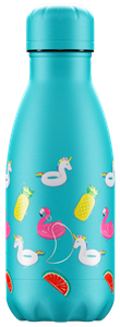 Botella térmica Chilly´s 260 ml Pool Party azul