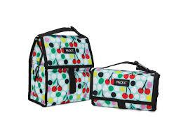 Bolsa térmica porta alimentos 4,4 litros Lunch Bag PACK IT, Cerezas